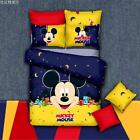 *** Moonlight Mickey Mouse Single Bed Quilt Cover Set - Flat or Fitted Sheet ***