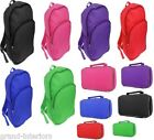 ADULTS CHILDRENS BOYS GIRLS SCHOOL BACK PACKS RUCK SACKS INSULATED LUNCH BAGS