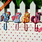 4PCS My Little Pony Cartoon Bookmark,Paper Clips,School Supplies Stationery Gift