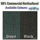 2m & 4m x 50m Shade Cloth 80% Density Commercial Grade 280gsm Shadecloth