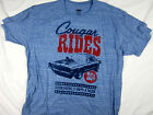 Ford Racing Motor Sports Cougar Vintage tee shirt blue men's choose A Size
