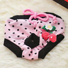 Female Pet Dog Puppy Sanitary Physiological Pants Short Panty Diaper Underwear