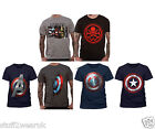 OFFICIAL Avengers Age Of Ultron Block T Shirt Marvel Captain America Ironman New