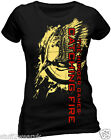 Official The Hunger Games Catching Fire Flaming Pin T Shirt  Foil Print 853