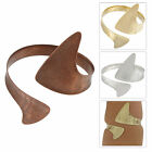 Kim Craftsmen Pointed Upper Arm Bracelet - Choice Copper Gold Silver Tone