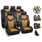 Synthetic Leather Full Set Auto Seat Covers Air Bag Safe &amp; Split Bench Ready <br/> #1 Best Seller on eBay. Over Thousands Sold Top Quality