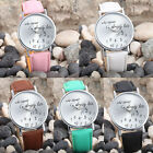 New Fashion Women Men Leather Casual Watch Analog Quartz Couples Wrist Watches