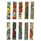 Unsex Fake Temporary Tattoo Sleeves Art Party Japan Demon Devil Cloth Arm Fancy