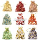 New 10/100Pcs Organza Sheer Wedding Party Candy Bags Favors Gifts Pouch 10X12cm