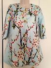 Womens Vintage Lace Floral Spring Coat Trench Soze XS