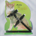 Cat Lead Leash Harness Kitten Belt Strap Safety Rope Cat Collar Multi Color