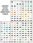NEW Maderia Embroidery Rayon Sewing Thread Classic No.40 5000m Colours 1176-1378