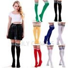 Women's Thigh High Over-Knee Athletic Soccer Rugby Sports Fashion Tube Socks