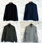 Mens Casual Sports Jumper Gym Zip Jacket 9731 Grey Khaki Navy Black S M L XL XXL