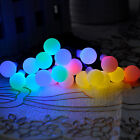 Solar Power Ball 5m 20 Leds Fairy String Lights Party Christmas Wedding  Decor