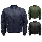 NEW WOMENS FLIGHT URBAN BOMBER LADIES VINTAGE ZIP JACKET COAT SIZES 8 -14