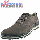 Caterpillar Mens Rayden Premium Leather Outdoor Shoes Brown *AUTHENTIC*