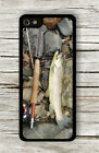 FISHING WITH FLY CASE FOR iPHONE 4 , 5 , 5c , 6 -g46ny