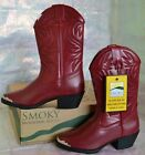 SMOKY MOUNTAIN MESQUITE RED 1033T Toddler Girl 7 7.5 8 Cowgirl Western Boots NEW