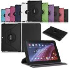 "360° Rotating Folio PU Leather Case Stand Cover For 10"" Asus Memo Pad 10 ME103K"