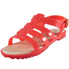 Premier Womens Girls Fishermans Jelly Holiday Beach Sandals Coral *AUTHENTIC*