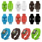 Strap Bracelet Watch Band Cover Silicone Fitness Replacement fr Apple Watch 42mm