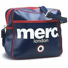 MENS MERC LONDON RECORD / MESSENGER FASHION TARGET AIRLINE BAG - NAVY BLUE