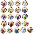 HAPPY BIRTHDAY BALLOONS AIR FILL PACKS OF 10 AGES 1-100 MIXED COLOURS