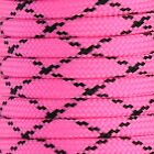 550 Paracord Parachute Cord Lanyard Mil Spec Type III 9 Strand Core 25ft- 300 FT