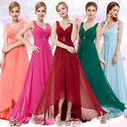 Women's Sexy Chiffon Long Evening Formal Party Bridesmaid Prom Dress 09983