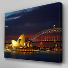 C037 Sydney Opera House Canvas Wall Art Ready to Hang Picture Print