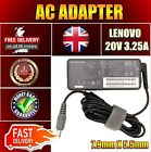 New IBM Lenovo Laptop Adapter Mains Charger 65w 20v 3.25w  Pin7.9mm X 5.5mm