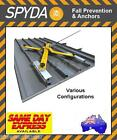 SPYDA Temporary Roof Anchor Point Rated 15kN Clamp & Screw Fix Kits