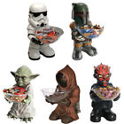Star Wars Giant Figure And Candy Bowl New & Official In Box Yoda/Darth Maul/Jawa