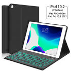 7 Colors Backlit Bluetooth Keyboard Case For iPad Air 2/1 Smart Leather Cover