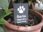 Pet Memorial Engraved Slate Sign Plaque Dog Cat Rabbit