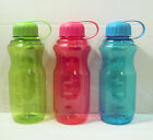 Water Bottle Sport Screw On Top Lid 28oz Plastic Tumbler Cup Thermo Travel Mug