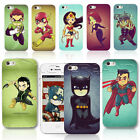 Colorful Super Hero Pattern PC Hard Case Cover For iPhone 4/5/6 Samsung S5 Note3