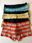 H&M 3 Pack Cotton Stretch TRUNKS Sizes S, M, L, XL NEW Stripes