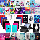 Universal Leather Stand Case Cover +Pen For RCA Voyager RCT6773W22 7 Tablet PC
