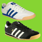 ADIDAS ORIGINAL MENS ROM LEATHER LACE RETRO GYM RUNNING SPORTS TRAINERS UK 7-11