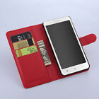 Leather Folio Wallet Flip Stand Case Pouch For Lenovo A616 (4Colors) #i
