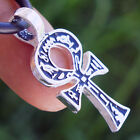 Small Ankh Cross of life Key of Nile EGYPTIAN Paganism Pagan Pewter Pendant