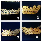 14K Personalized Reg. Name Plate-3D Mirror Plate