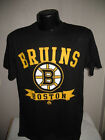 NHL Boston Bruins Hockey Team Logo T Shirt Mens Nwt Black  New Majestic $12.34 USD on eBay