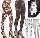 CAT LEGGINGS GOTH EMO INSANITY SIZE 8-18