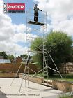 Super eDIY 4M to 7M Stiffener Aluminium Scaffold Tower / Towers - British Design <br/> FREE LIFETIME GUARANTEE + Welded frames 1/3 stronger