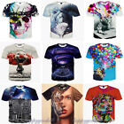 2015 Fashion 3d Print Funny Popular Women Men T Shirt Short Sleeve Tee Top S-2xl