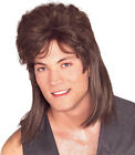 Adult 80s 90s Mullet Wig Costume Halloween