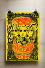 60's 70's Concert A4 POSTER PRINT  Retro Vintage music psychedelic trippy